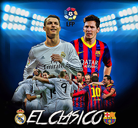 Real Madrid Barcelona 280x260
